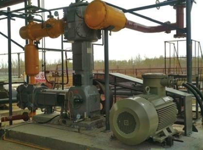 煤气压缩机使用现场